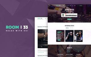 Room 33 - Vibrant WordPress Theme