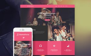 Stereo Force - Remarkable WordPress Theme