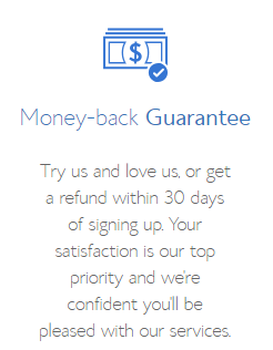 The Best Web Hosting Bluehost money back Guarantee