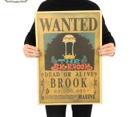 Pros of using the one piece wanted posters