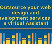 Outsource your web design and development services to a virtual Assistant