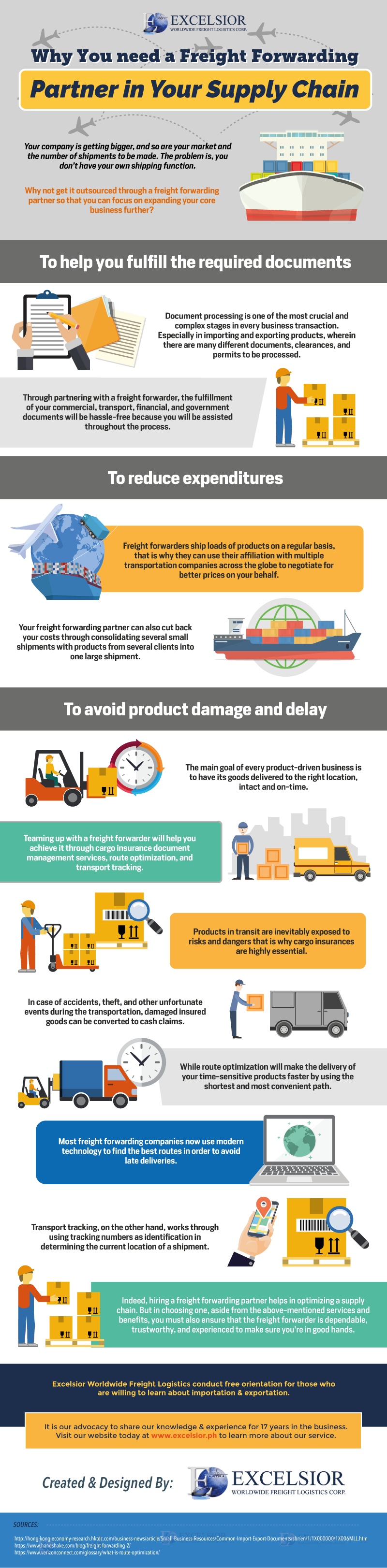 Why You Need a Freight Forwarding Partner in Your Supply Chain (Infographic)