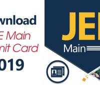 Download JEE Main Admit Card 2019
